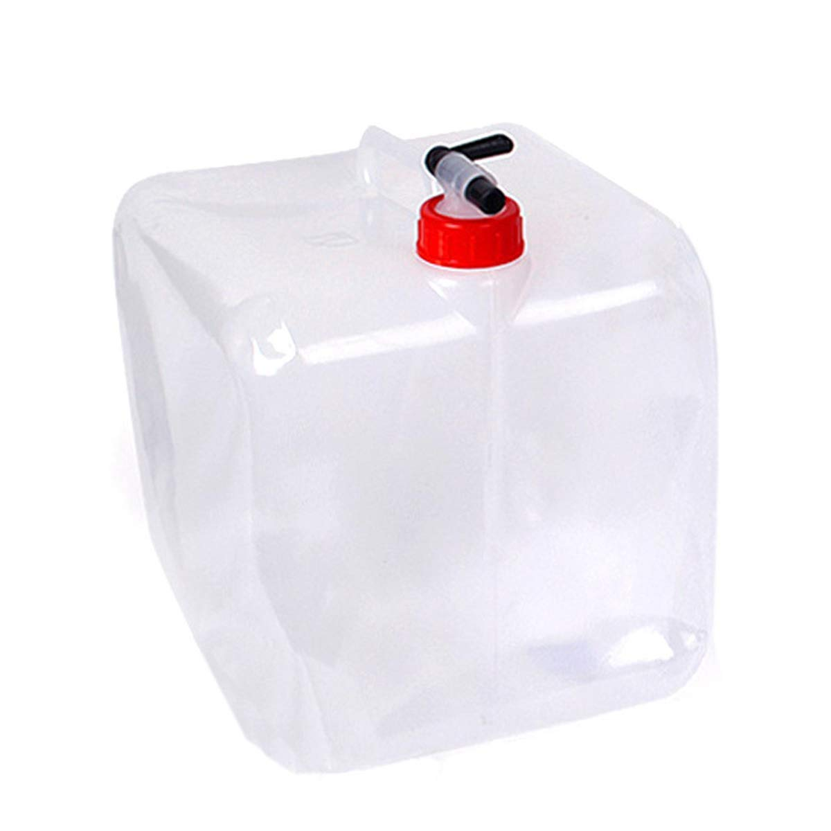 cjixnji Cubo de Agua Plegable Emergencia de Supervivencia Adecuado para Acampar Deportivo Senderismo Coche 20L de Agua Plegable al Aire Libre del Cubo Barbacoa Picnic