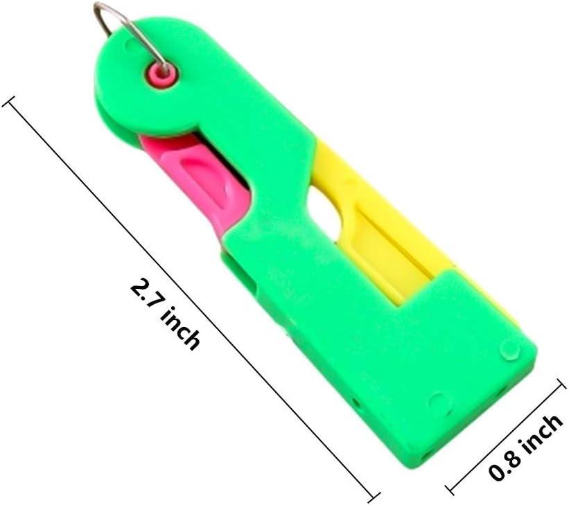 Automatic Needle Threading Device,Self Threading Hand Needle,Easy Use /& Carry,Spontaneous unaffected Needle Threader Thread Guide Needle Device for Adult,Old,Kids Random Color 12 Pcs//Set