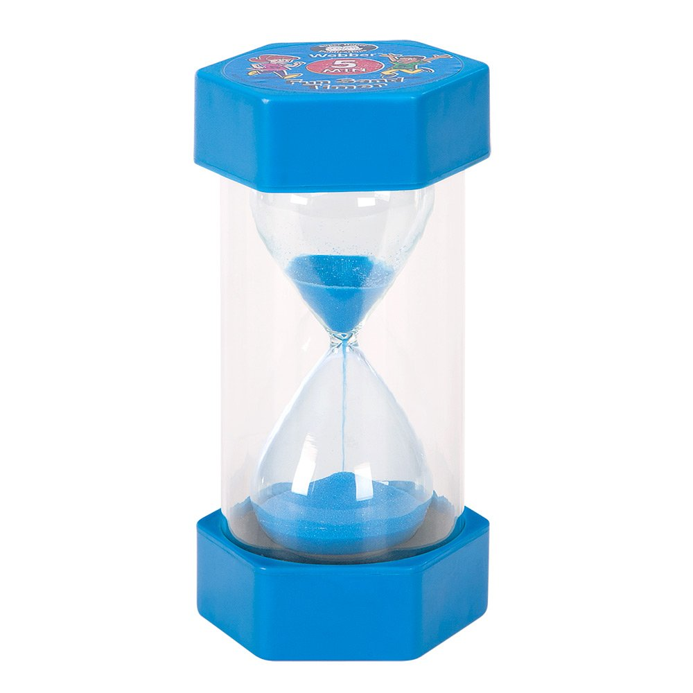Amazon.com: Webber Fun Sand Timer (5 Minute) - Super Duper ...