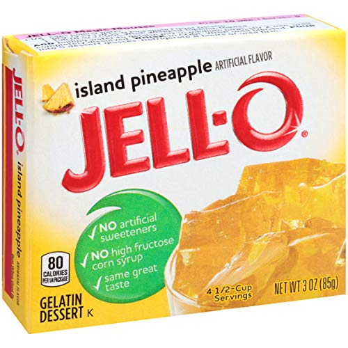 Jell-O Island Pineapple Gelatin Dessert Mix, 3 oz Box by Jell-O (Image #4)
