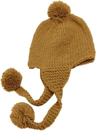 TENDYCOCO Orejeras para niños pequeños Beanie Winter Warm Earmuffs ...