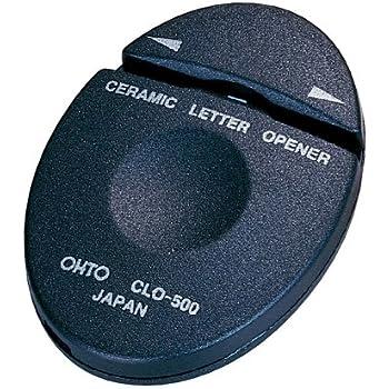 1 X Auto Ceramic Black Letter Opener