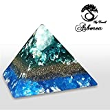 Moon, Orgone Pyramid, relax. Reiki charged, ArboreaCrystals Design Orgonite Pyramids,