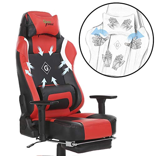 Greenforest Gaming Chair Ergonomic Reclining Lock Computer