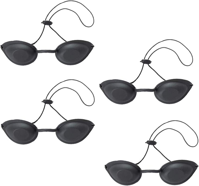 JHFGHJ Gafas de protección láser, gafas de seguridad, eliminación de pelo láser, protección de ojos completa
