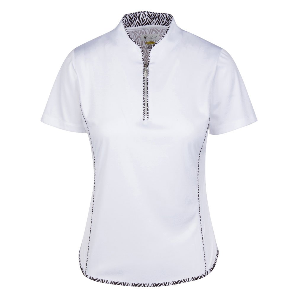 Greg Norman Women ML75 Liana SS Tulip Neck Golf Polo Previous ...