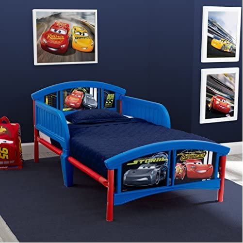 Delta Children Plastic Toddler Bed, Disney/Pixar Cars 2
