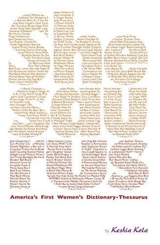 Shesaurus: Dictionary-Thesaurus