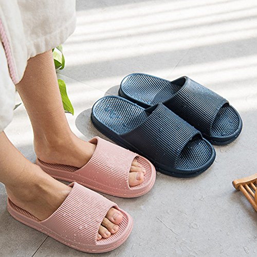 Slippers FLY Unisex Massage Slippers Massage Summer Couple Anti Slip Bathroom Coffee foot Casual Slippers HAWK Men Women Household Sandal Spring FIrIqA