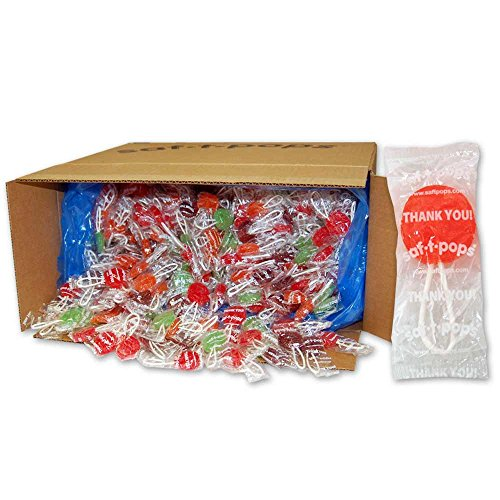 Saf-T-Pops Thank You Lollipops, 25-Pound by Saf-T-Pops