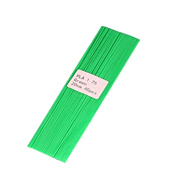 ueetek 120pcs 20 cm filamento 1.75 mm PLA Plastic Bar Refill para ...