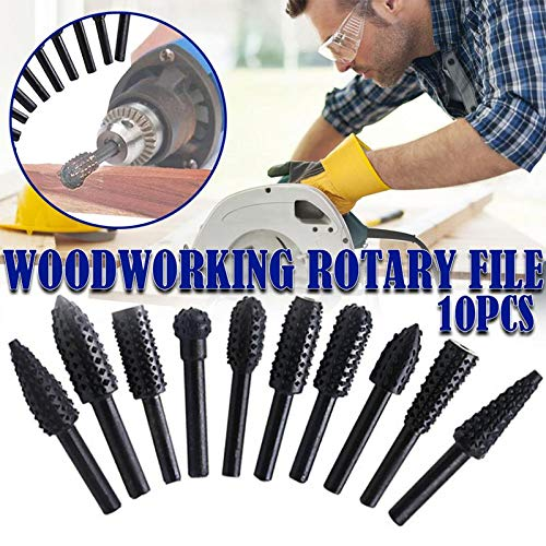 Wood Planers - 10pcs Set Hss Routing Wood Rotary Files Milling Cutter Woodworking Carving Grinding Drill Electric - Machines Used Sale 2019 Planers Woodworking Planers/joiner Wood
