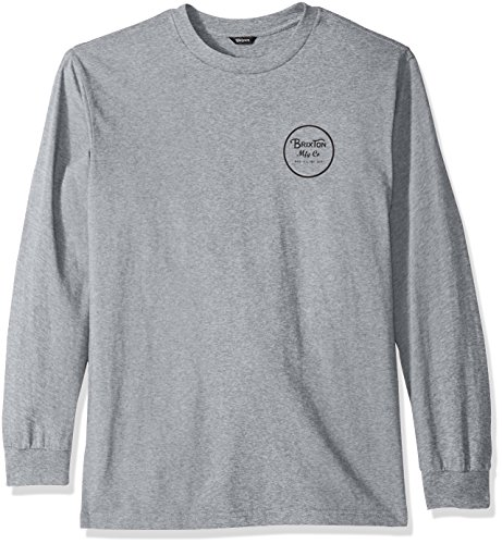 Brixton Mens Wheeler Ii Long Sleeve Standard Fit Tee