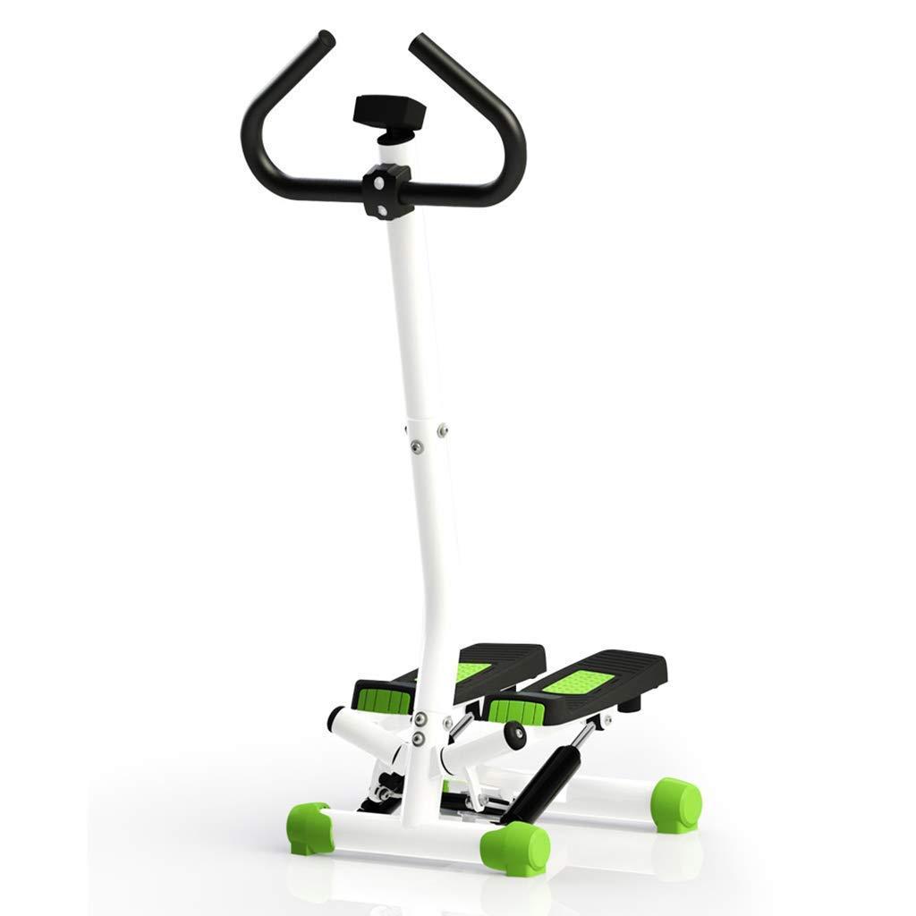 Mrtie Haushalt stumm Armlehnen Ofenrohr Klettern Stepper Sport Gewichtsverlust multifunktionale Fitnessgeräte Universal grün, Größe: 40,5x35x110cm