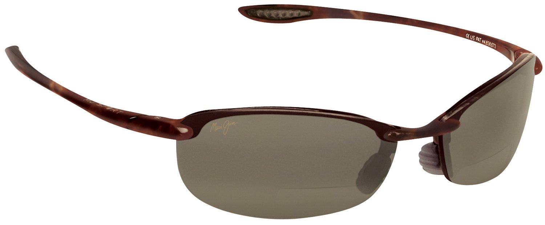 Maui Jim Makaha Bifocal Sun Reader Designer Reading Glasses, Tort./HCL Lens, +2.50 by Maui Jim