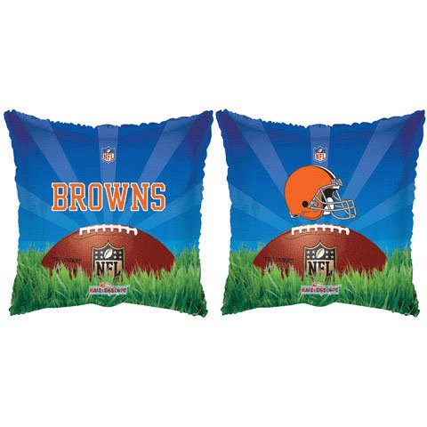 "NFL Cleveland Browns Square 18"" Mylar Balloon"