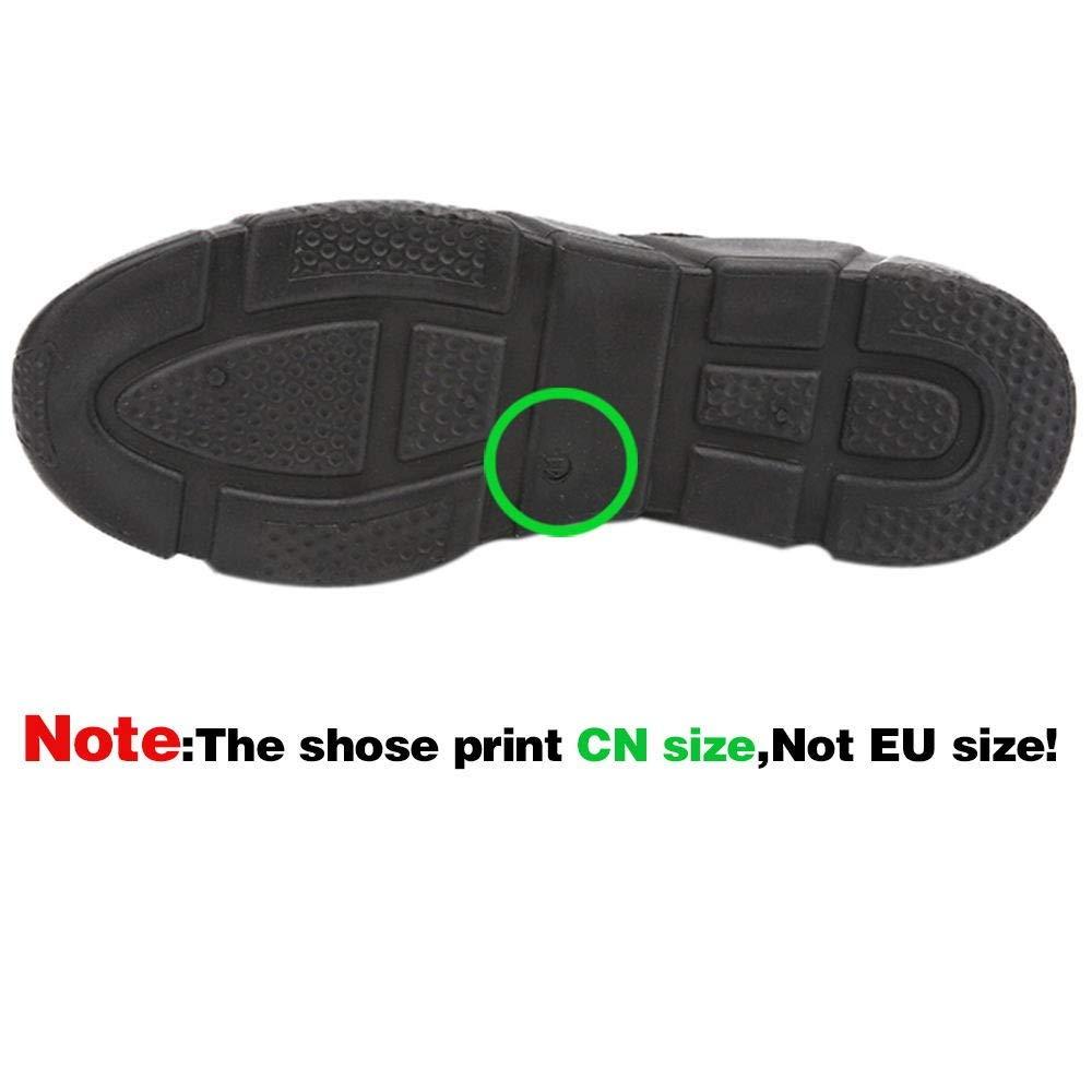 Men Leather Shoes Formal, Male Suit Shoes Business Dress Shoes Fashion Pointed Toe Shoes Black by Vanvler❤Men Shoes (Image #3)