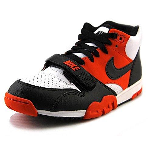 Nike Mens Air Trainer 1 Mid Schoenen Team Oranje / Zwart-wit