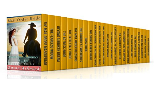 Mail Order Bride: Sensational Summer Stories (25 Book Box Set) (Historical Western Romance) cover