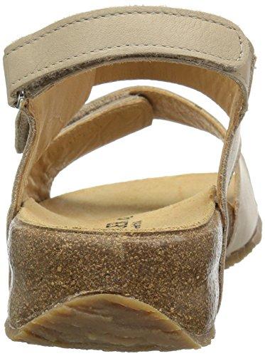 Haflinger Taupe Sandalo Delle Bella Donne x8PRBPY