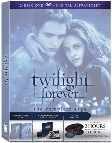 Twilight Forever: The Complete Saga [DVD + Digital] (Twilight Full Moon compare prices)