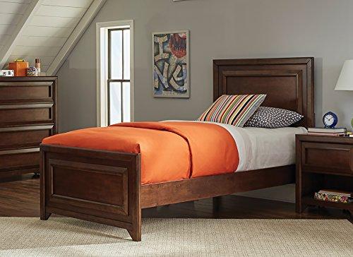 Coaster Home Furnishings 400821F Panel Bed, Maple Oak