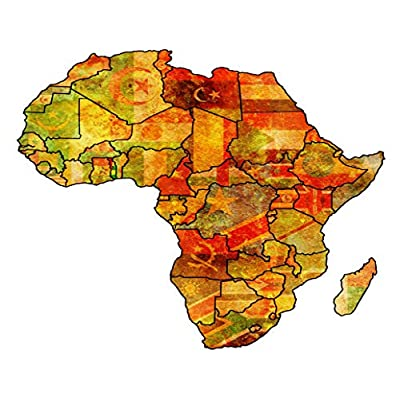 DIY 5D Diamond Painting Kits African Togo Actual Vintage Political Map Africa Flags Atlas Country Full Drill Painting Arts Craft Canvas for Home Wall Decor Full Drill Cross Stitch Giftt 14X20 Inch: Toys & Games