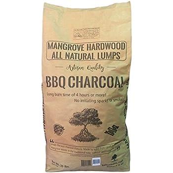 Mangrove Hardwood Lumps BBQ Charcoal (20 lbs)