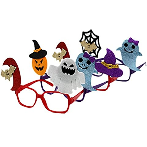 Common Family Friendly Halloween Costume Trick or Treat Eye Glasses Dress-up Accessories & Party Favors 12pcs(One (Eclipse Couture)