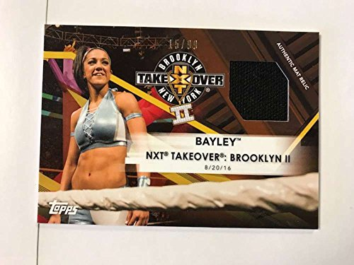 2017 Topps NXT Mat Relics #MR-BYY Bayley NXT TakeOver: Brooklyn II NM-MT MEM from NXT