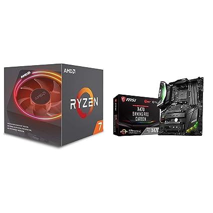 AMD Ryzen 7 2700X + X470 GAMING PRO CARBON Motherboard Bundle