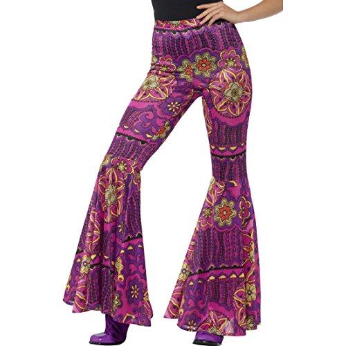 70 Années Batik Amakando Fleurs fr m Dames 42 Pattes Flare Hippie Imprimé D'éléphant Pantalon D'éph 36 S 6qdZq