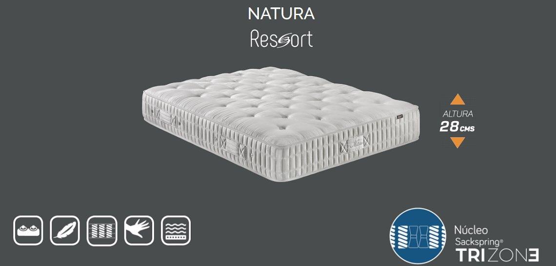 Marpe Colchón Natura, núcleo de Muelle ensacado Sackspring® Trizone y Lana y algodón de altísima Calidad (200x180): Amazon.es: Hogar