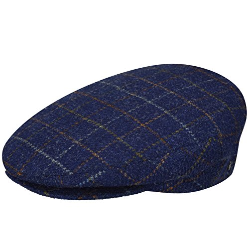 Bailey of Hollywood Men's Lord Windowpane Plaid, Light Navy, Small ()