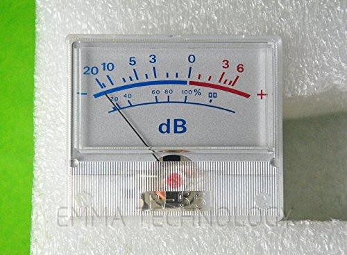 20 Sound Level Meter (Vu Table Header Audio Level Meter Db Power Sound Pressure P-55)