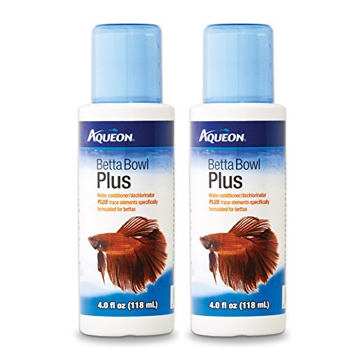 Aqueon Betta Bowl Plus Water Conditioner & Dechlorinator (2 ()