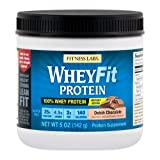 Fitness Labs WheyFit Protein (5 Ounces, Dutch Chocolate) Review