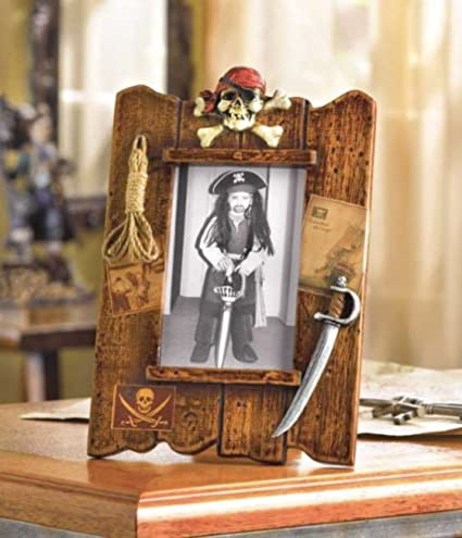 Amazon Wood Pirate Photo Frame 38299 Nursery Picture Frames