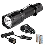 Cheap Bundle of 4 items: Fenix TK16 1000 Lumen LED Flashlight w/ AER-03 Pressure Switch, Offset Mount & 2x CR123A Batteries