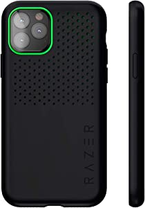 Razer Arctech Pro for iPhone 11 Pro Max Case: Thermaphene & Venting Performance Cooling - Wireless Charging Compatible - Drop-Test Certified up to 10 ft - Matte Black