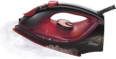 Ferro de Passar a Vapor Cerâmica Oster Preto e Vermelho - 127V