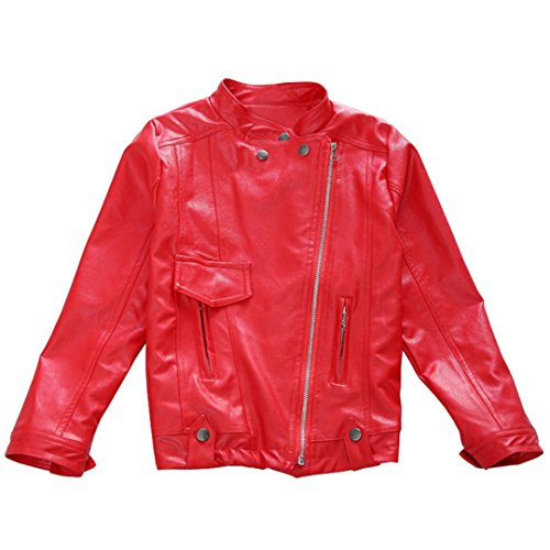 3 Button Leather Jacket - 9