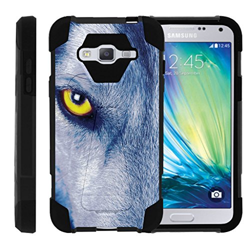 TurtleArmor | Samsung Galaxy J3 Case | Amp Prime | Express Prime | Sol | Sky [Dynamic Shell]
