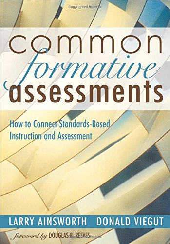 Common Formative Assessment: Book