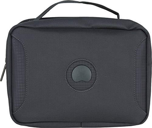 (DELSEY PARIS U-LITE CLASSIC 2 Toiletry Bag, 27 cm, 5 liters, Black)