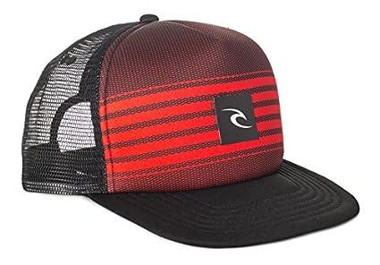 RIP CURL Pro Game F/P Trucker Gorra, Hombre, Rojo, Talla Única