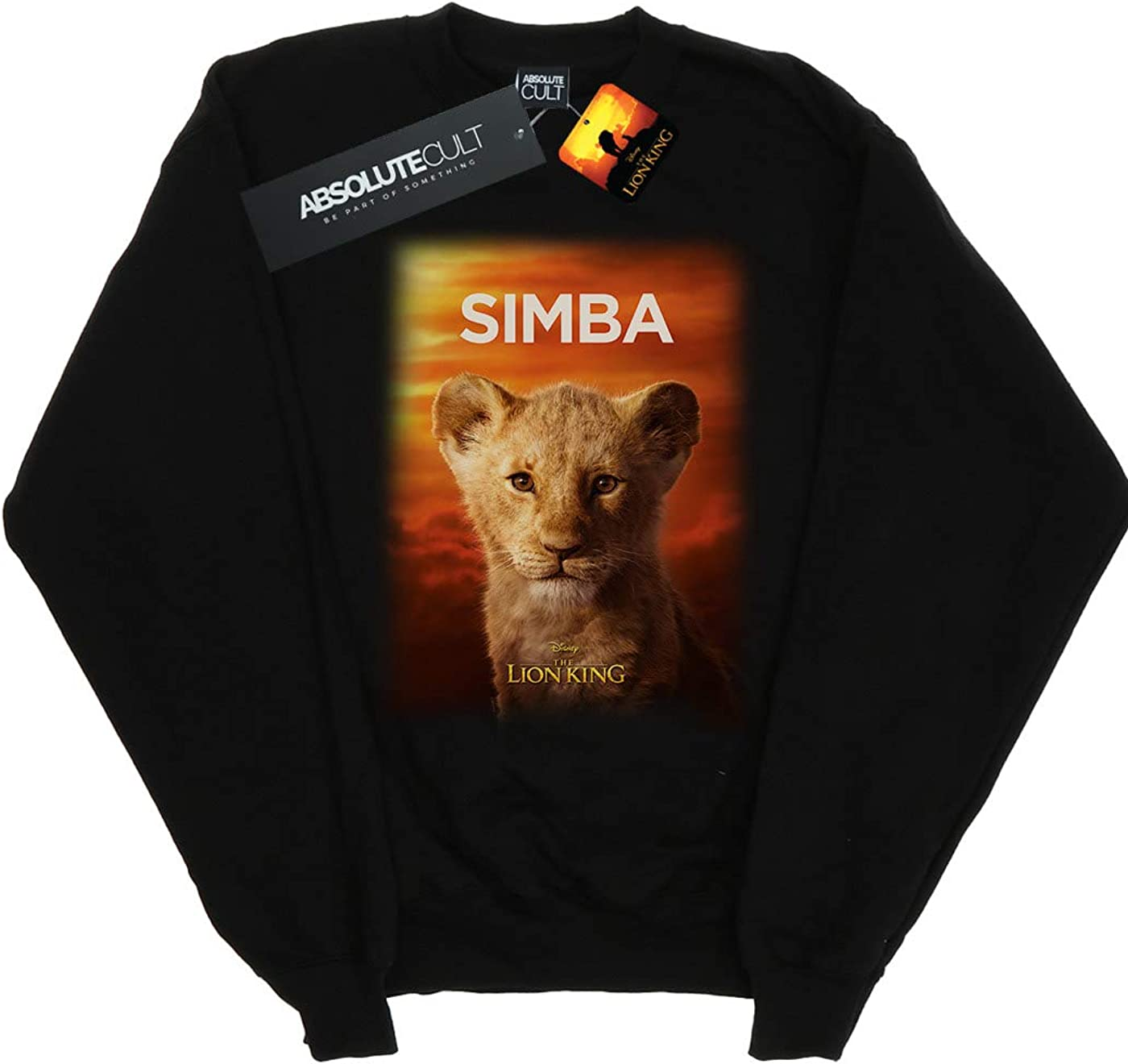 Disney Boys The Lion King Movie Baby Simba Poster Sweatshirt