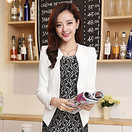 WYMBS 2017 spring outfits small business suit Female jacket short, long-sleeved blouses and Suits Small Sau San BXM*BS
