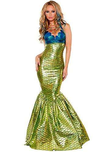 Wonder Lingerie Plus Women's Mermaid Halloween Party (Mermaid Halloween Costume Plus Size)