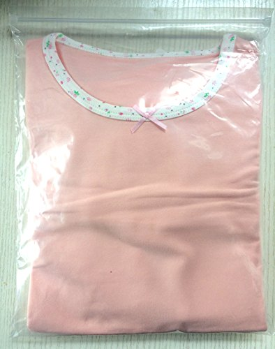 Autumn Long Sleeve Pajamas Set for Girls Boys Kid's Costumes Cotton Tops and Pants (8, Pink) by BLOSSOMLIFE (Image #4)